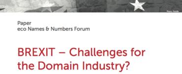 Paper: BREXIT – Challenges for the Domain Industry?