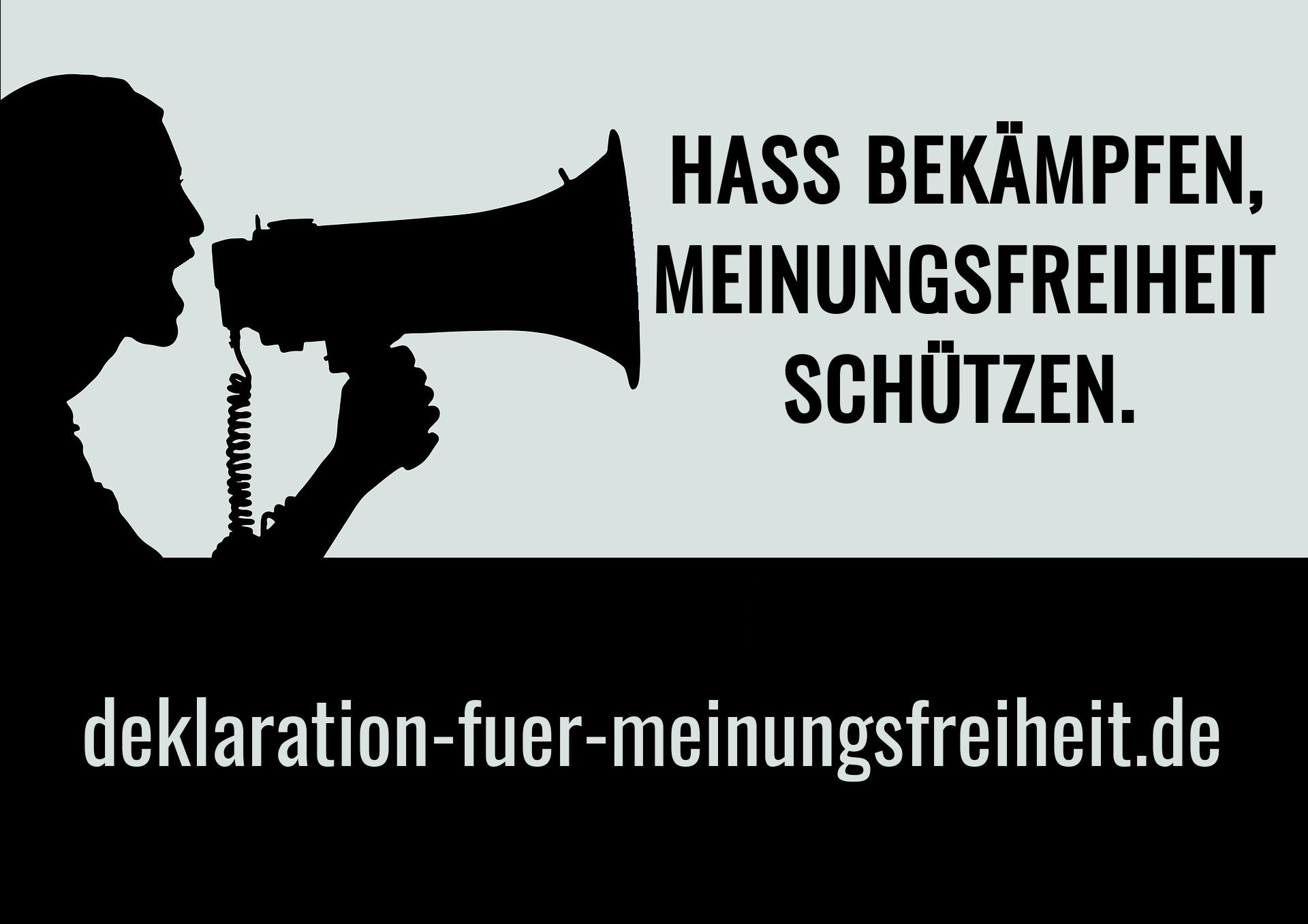 Deklaration zur Meinungsfreiheit