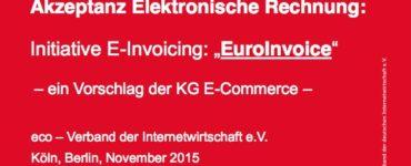 Akzeptanz Elektronische Rechnung