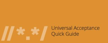 Universal Acceptance Quick Guide