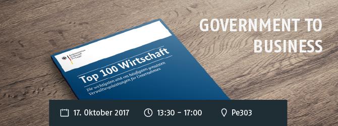 Government to Business: Welche digitalen Verwaltungsangebote braucht die Wirtschaft in Nordrhein-Westfalen? 1