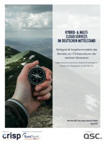 Studie zum Multi Cloud Management in Deutschland