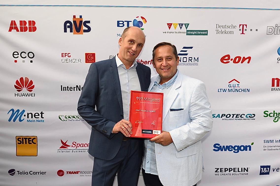 10 Jahre EMC HostCo GmbH in München 1