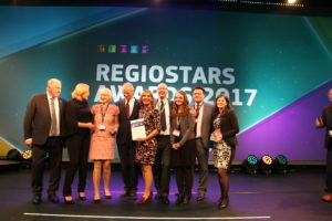 NRW-Projekt Smart Service Power gewinnt EU RegioStars Award
