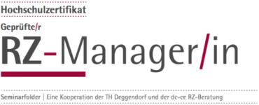 """""""Geprüfter RZ-Manager"""""""