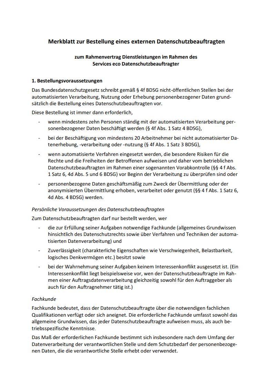 eco externer Datenschutzbeauftragter 3