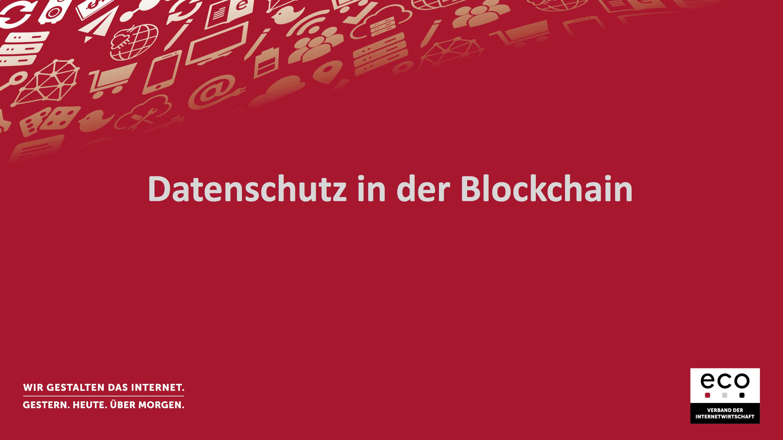 Präsentation: Datenschutzgrundverordnung: Datenschutz und Datensicherheit