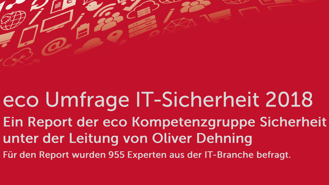 eco-Studie: Notfallplanung ist Top-Security-Thema