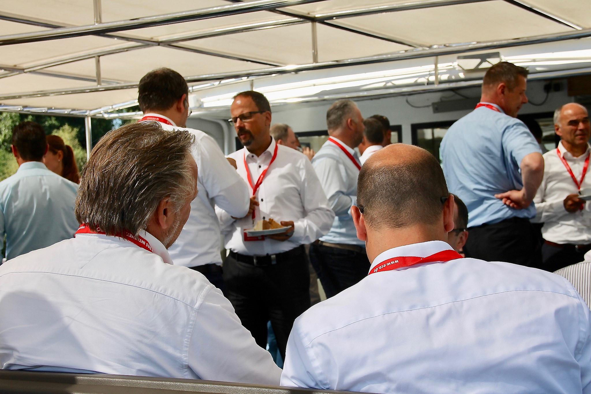 Wissenstransfer, Networking und Business Talk in entspannter Atmosphäre