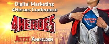 DIGITAL MARKETING 4HEROES Conference - München