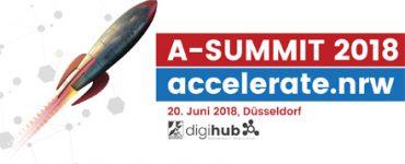 A-Summit 2018. accelerate.nrw
