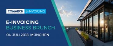 Comarch E-Invoicing Business Brunch