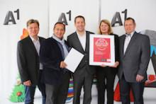 A1 erreicht wieder Bestnoten bei RZ-Zertifizierung Datacenter Star Audit