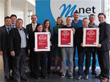 Auszeichnung für M-net Rechenzentren