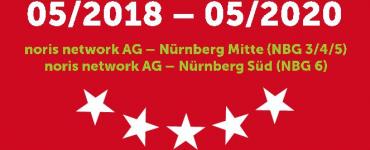 Nürnberg Mitte (NBG 3/4/5) + Nürnberg Süd (NBG 6) – noris network AG (Interconnected)