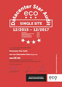 Datacenter Cluster Hannover – net.DE AG