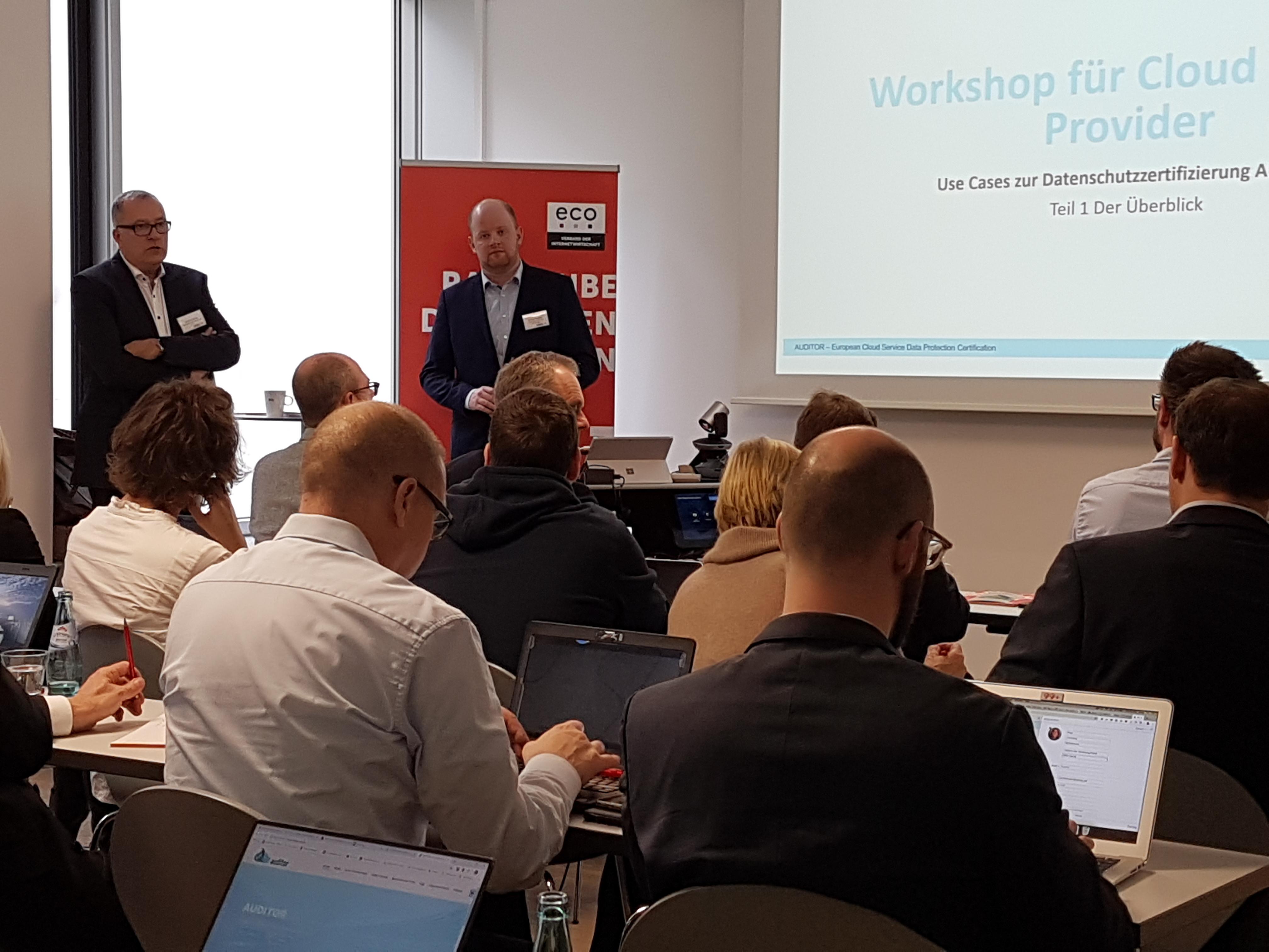 AUDITOR Workshop Nr. 2: Ergebnisse zur praxisgerechten Umsetzung der EU DSGVO 1