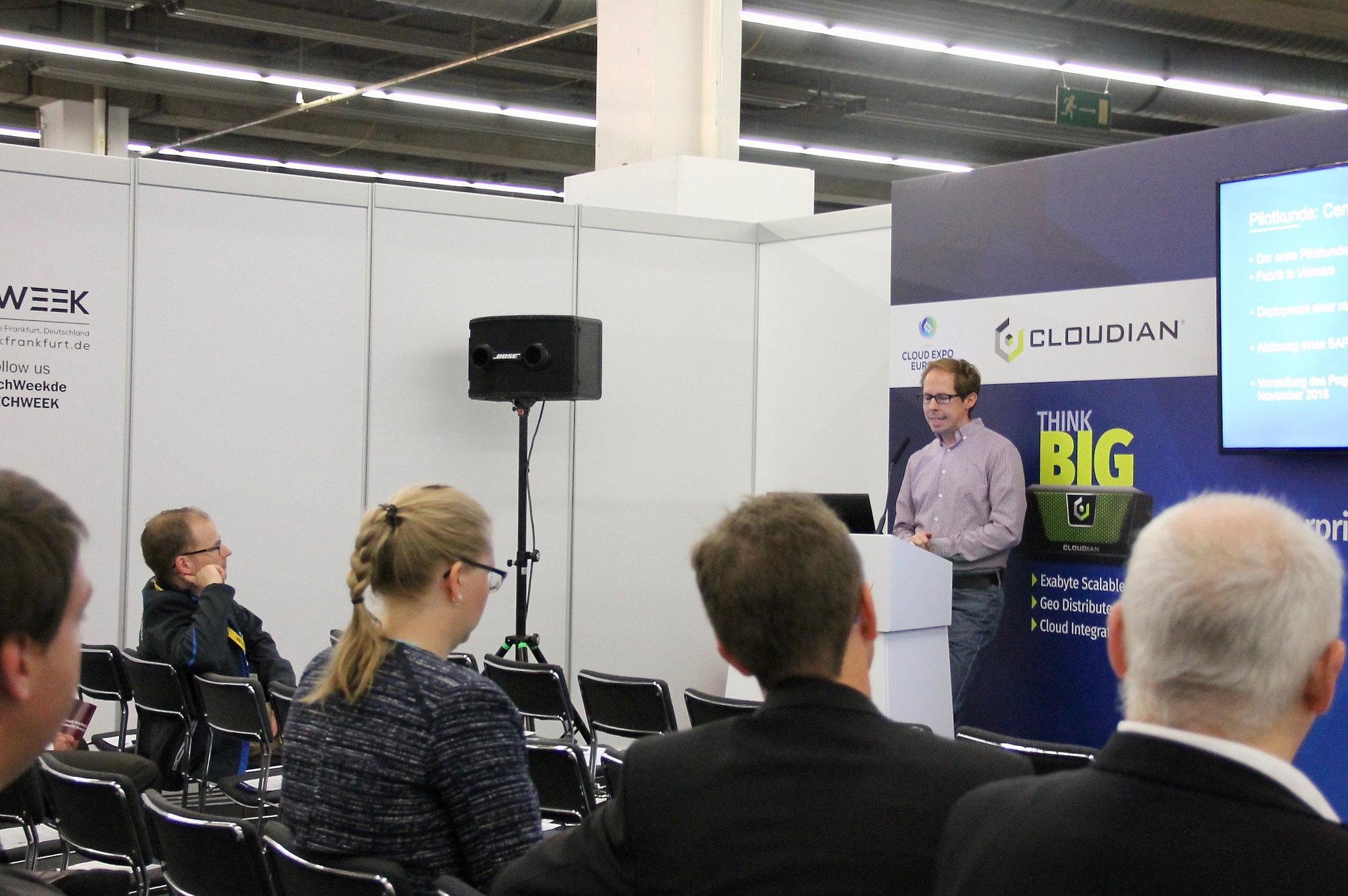Nachbericht zur Techweek Frankfurt 12