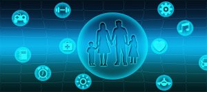 Digitaler Arbeitsplatz hilft Familien