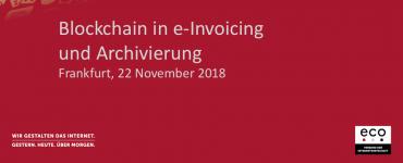 Präsentation: Blockchain in e-Invoicing und Archivierung