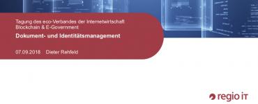 Präsentation: Dokument- und Identitätsmanagement