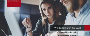 Präsentation: Citizen Blockchain Dezentrales Bürger-Ökosystem