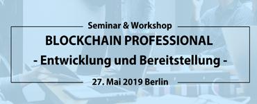 Blockchain Professional - Entwicklung und Bereitstellung 1