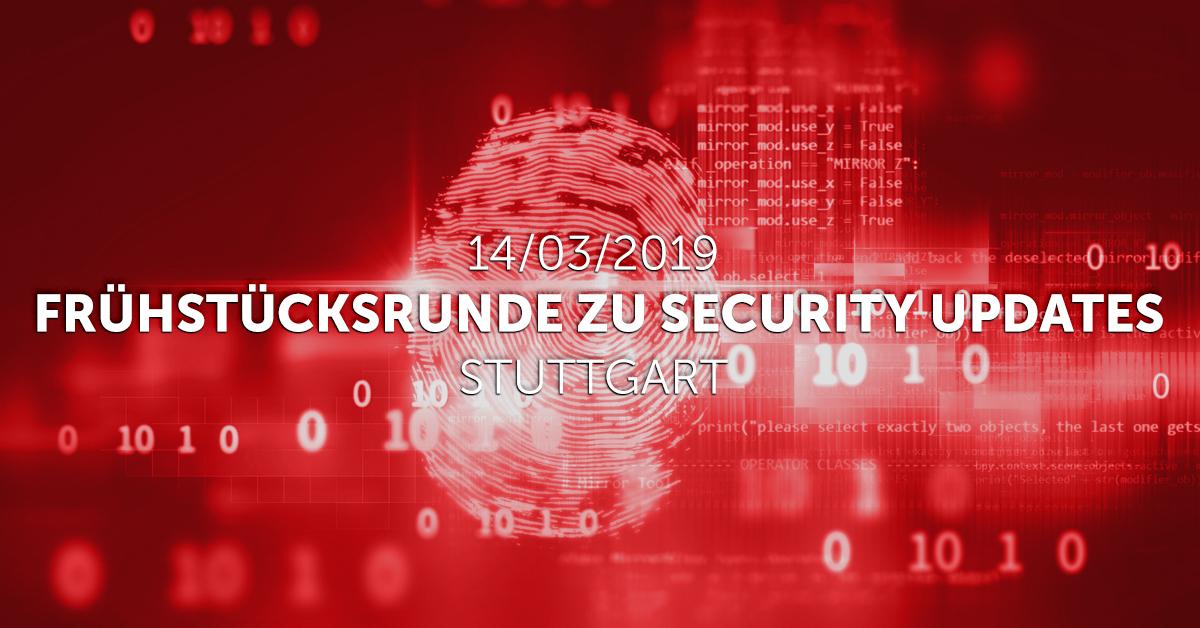 Security update 1