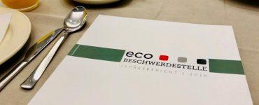 Präsentation des Jahresberichts der eco Beschwerdestelle im Europäischen Parlament