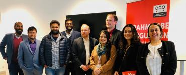 Austausch zur Netzpolitik: eco trifft Delegation aus Südasien