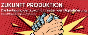 B2B Kampagne in der FAZ zum Thema Produktion und Digitalisierung