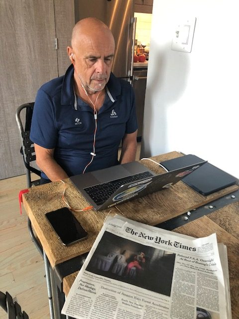 New Work Reisen um zu arbeiten. Interview-Reihe: Harald A. Summa als digitaler Nomade 1