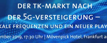 """TEC """"TK-Markt nach der 5G-Versteigerung – Lokale Frequenzen und ein neuer Player"""""""