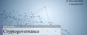 Präsentation: Cryptogovernance