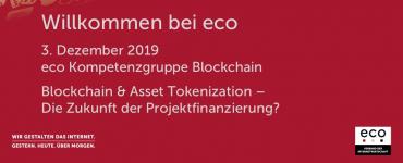 Präsentation: Blockchain & Asset Tokenization – Begrüßung