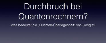 Durchbruch bei Quantenrechnern - Technology Review