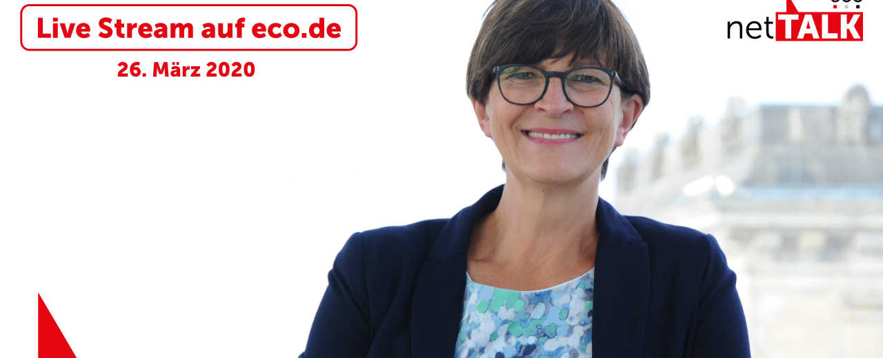 Talk mit Saskia Esken