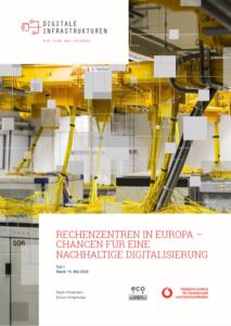 eco-Studie: Rechenzentren sind Garant für nachhaltige Digitalisierung in Europa 3
