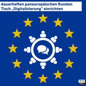 Die Zeit der Kleinstaaterei ist vorbei – Deutschland muss Europa im Rahmen seiner EU-Ratspräsidentschaft digital stärken! 5