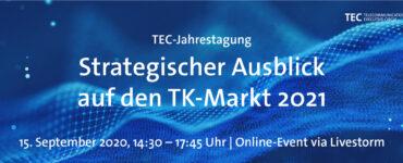 """TEC-Jahrestagung: """"Strategischer Ausblick auf den TK-Markt"""" 1"""