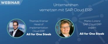 Cloud Expo Europe Frankfurt – Summer Webinar Series: Unternehmen vernetzen mit SAP Cloud ERP