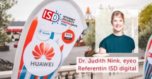 ISD digital 2020: Interview mit Dr. Judith Nink
