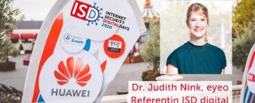ISD digital 2020: Interview mit Dr. Judith Nink