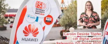 Carolin Töpfer ISDDigital 2020