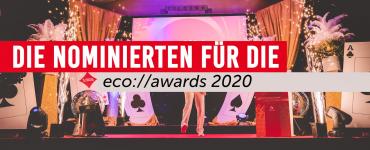 Das sind die Nominierten der 19. eco://awards