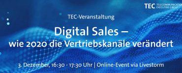 Digital Sales – wie hat 2020 die Vertriebskanäle verändert?