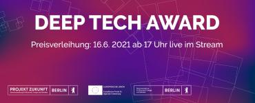 Deep Tech Award 2021