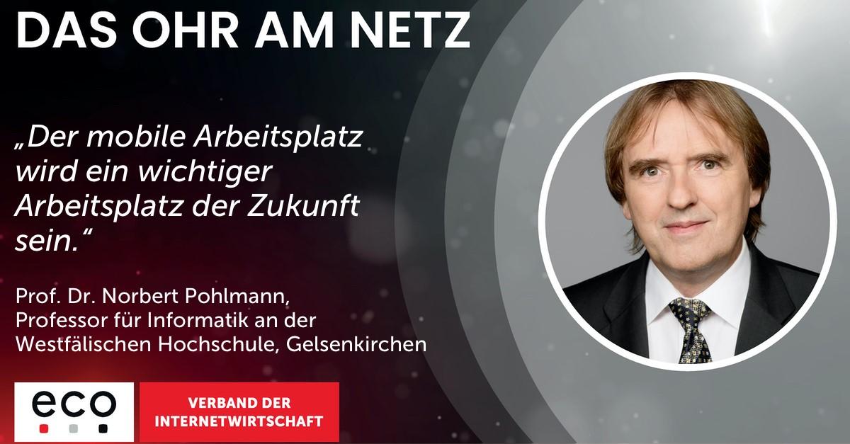 Norbert Pohlmann im Podcast: IT- und Cyber-Sicherheit