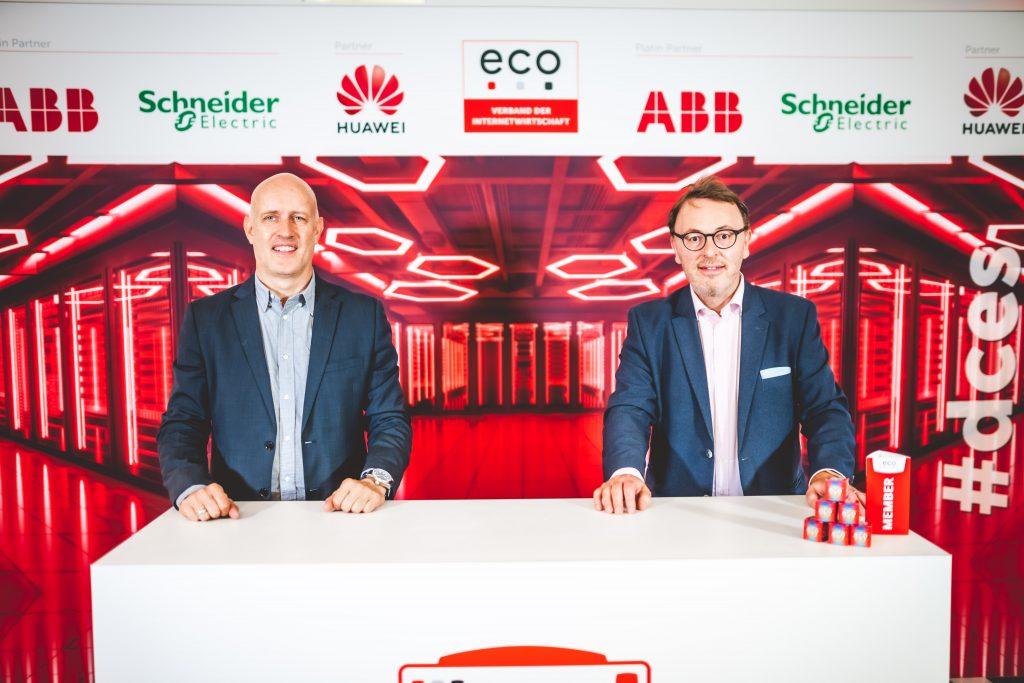 Markus und Roland auf dem Data Center Expert Summit