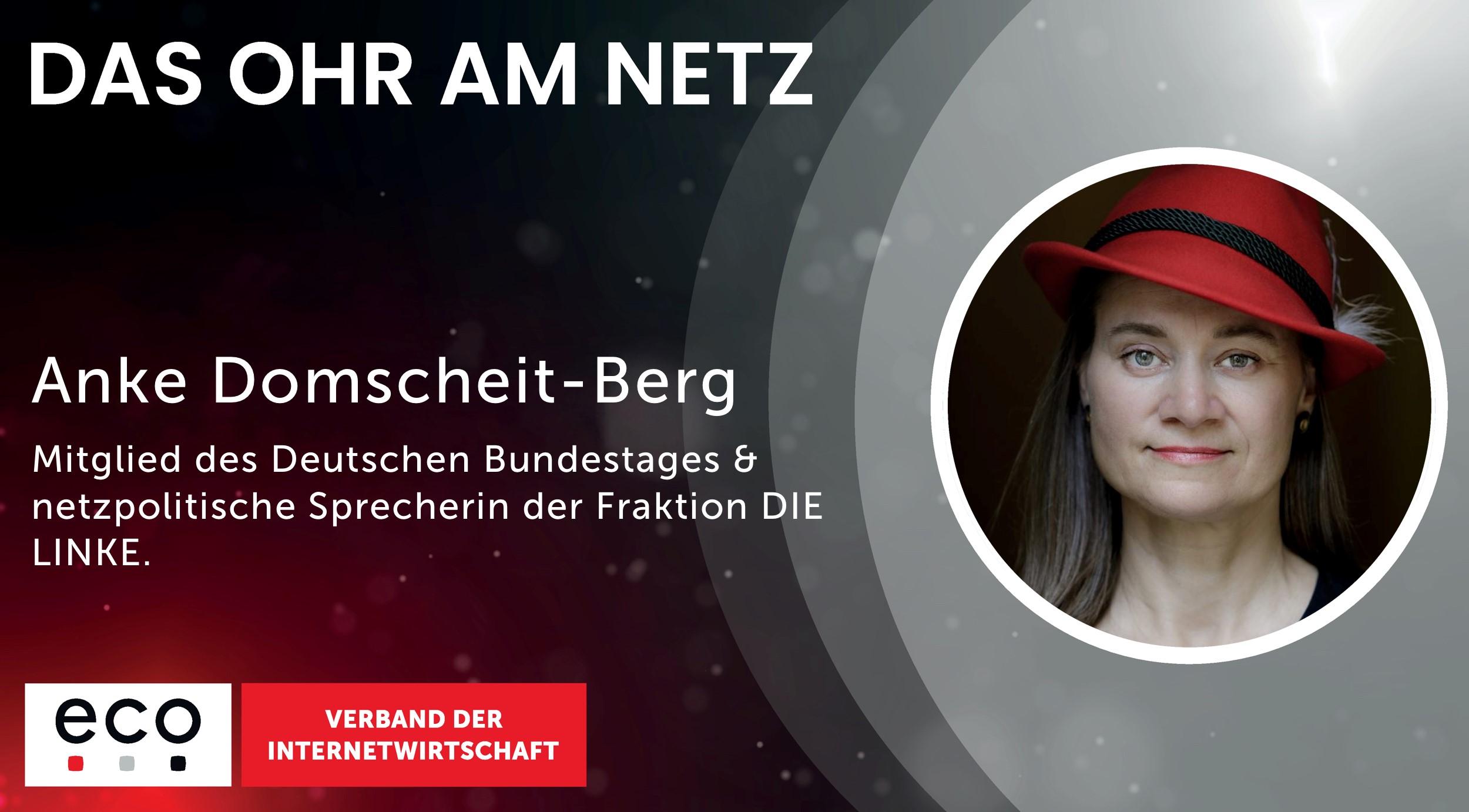 Anke Domscheidt-Berg im Podcast das Ohr am Netz